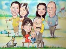 karykaturzysta karykatury na weselu wesele pamiatka podziekowania dla rodzicow (13)