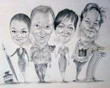 karykaturzysta karykatury na weselu wesele pamiatka podziekowania dla rodzicow (14)