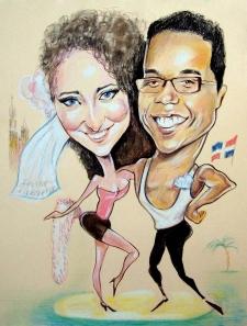 karykaturzysta karykatury na weselu wesele pamiatka podziekowania dla rodzicow (20)