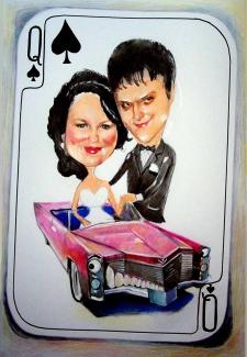 karykaturzysta karykatury na weselu wesele pamiatka podziekowania dla rodzicow (3)