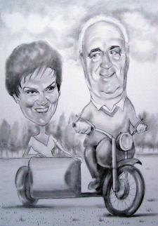 karykaturzysta karykatury na weselu wesele pamiatka podziekowania dla rodzicow (43)
