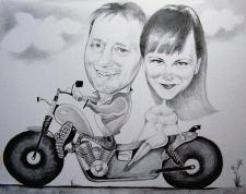 karykaturzysta karykatury na weselu wesele pamiatka podziekowania dla rodzicow (52)
