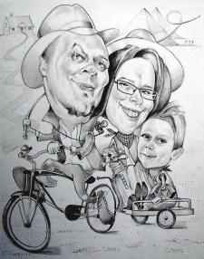 karykaturzysta karykatury na weselu wesele pamiatka podziekowania dla rodzicow (56)